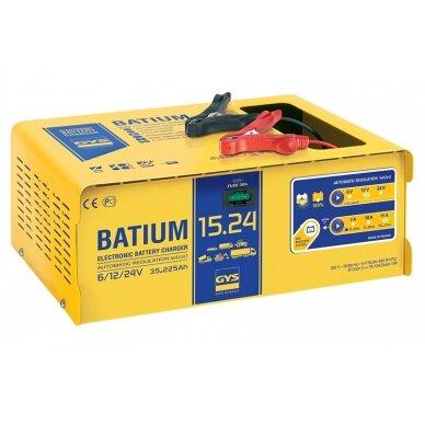Akum. pakrovėjas Batium 15/24 25A 6/12/24V automatinis