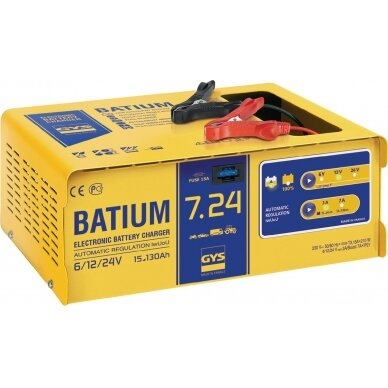 Akum. pakrovėjas Batium 7/24 13A 6/12/24V automatinis