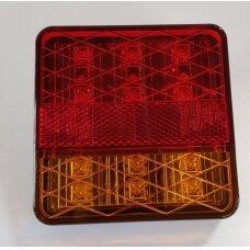 Žibintas galinis LED LT-118 (100x100 mm)