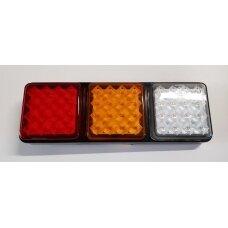 Žibintas galinis LED LT105 3 skyr.(285x96 mm) 073