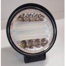 Žibintas LED 12/24V,18W TR-5039 baltas/geltonas