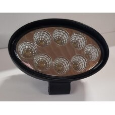 Žibintas LED 12/24V,24W TR-6524 ovalus