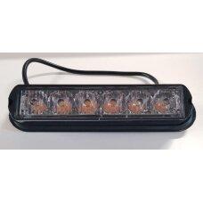 Žibintas signalinis LED 12/24V, 6W TR-5506