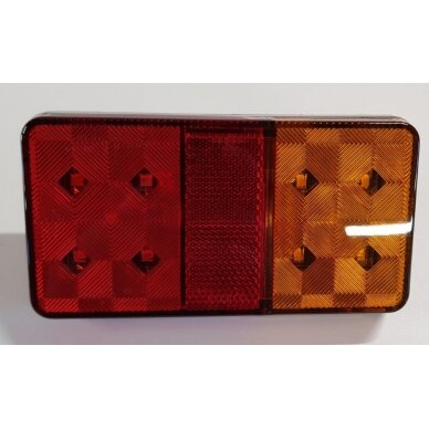 Žibintas galinis LED LT-127 (150x100 mm)