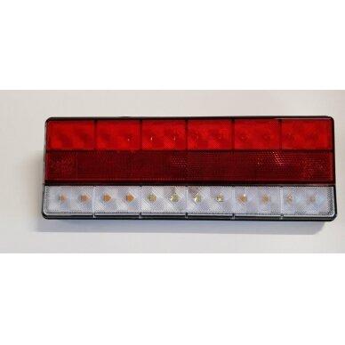 Žibintas galinis LED LT106 2 skyr.(275x100 mm)