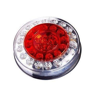 Žibintas galinis LED LT117 (apvalus 4 sk.)