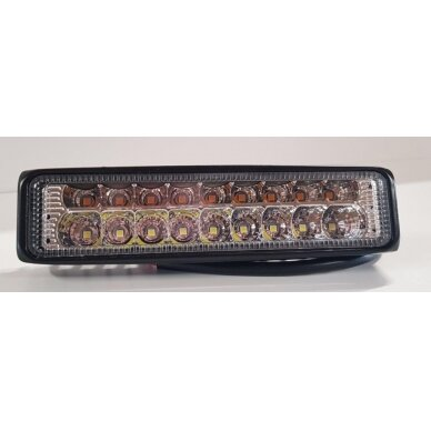 Žibintas LED 12/24V,54W TR-1654 baltas/geltonas
