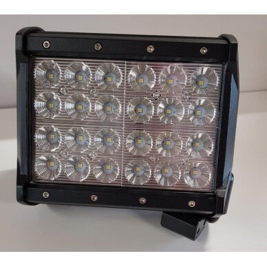 Žibintas  LED 12/24V,72W TR-B072-52 stač.4 eil.